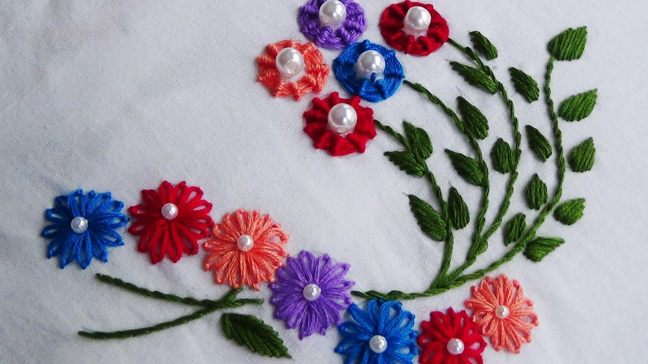 Hand Embroidery 20 Beautiful Eye Catching Embroidery Stitches
