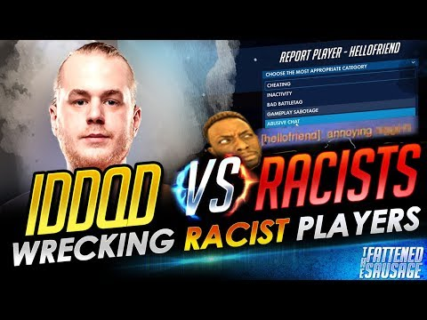 IDDQD Gets Triggered and WRECKS RACISTS ft. SF Shock Architect