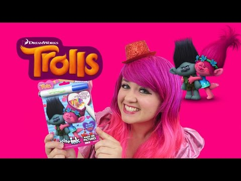 Trolls Magic Ink Coloring & Activity Book Imagine Ink | KiMMi THE CLOWN