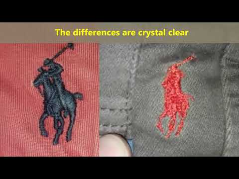 Real Vs Fake Ralph Lauren Pants. How To Spot Fake Polo Trousers And Chinos