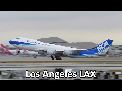 BUSY DAY! Planespotting at Los Angeles LAX Airport: 747, MD11F, 777, 787 & more!