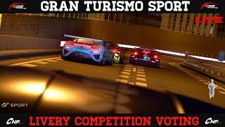 GT Sport - Livery Voting & Open Lobby