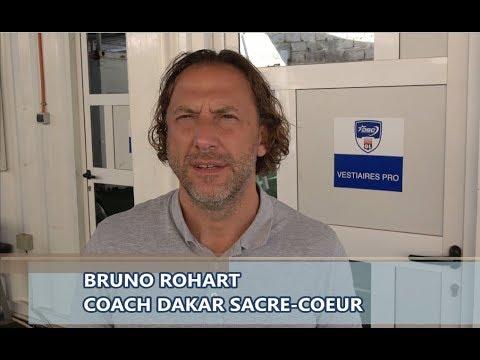 Débrief AS Dakar Sacré-Cœur vs US Ouakam avec Bruno Rohart