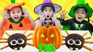 Suri & Annie Pretend Play Halloween Costume Party for Kids