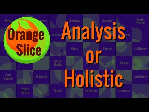 Rubric Type: Analysis or Holistic