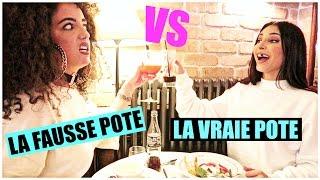 La vraie pote VS La fausse pote ⎮Sananas ft Shera !