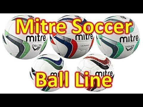 Mitre Soccer Ball/Football Line - Delta V12, Ultimax, Monde V12, Ultimatch