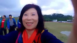 水漾慢跑16人花東屏高3日遊影片由會長夫人淑妃小姐拍攝.