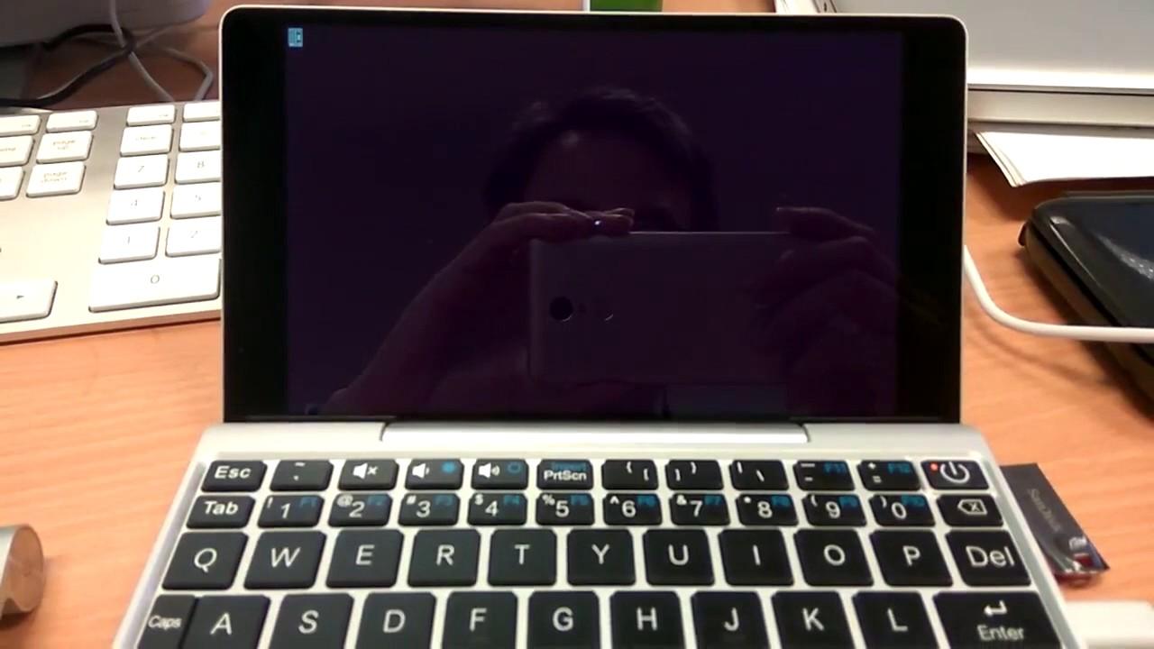 GPD Pocket Ubuntu 17 04 installation
