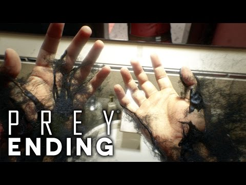 Prey - TO SAVE TALOS 1 OR BLOW IT UP? - ENDINGS (Prey 2017 Walkthrough Gameplay Part 18)