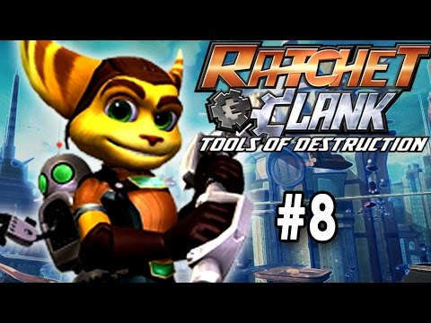 Ratchet & Clank: Tools Of Destruction [Part 8] [In Search Of The Facility]