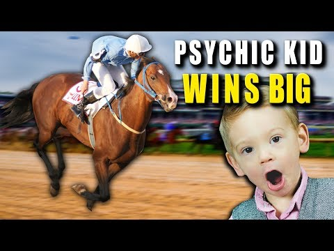 Psychic KID WINS BIG AT RACE TRACKS
