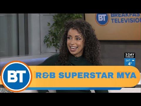 R&B Superstar Mya is here!