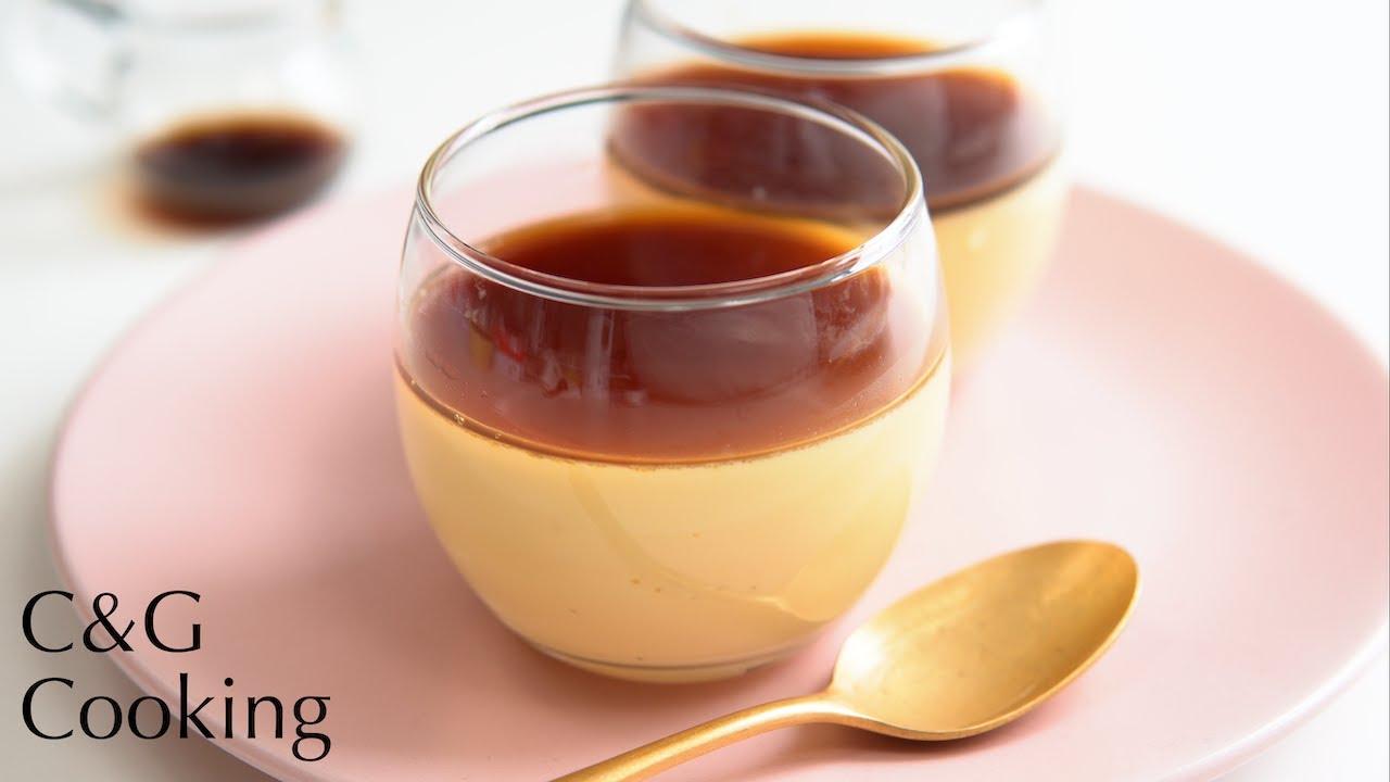 【低糖質】オーブン不要!なめらかプリン🍮の作り方  | 糖質オフ 低糖質 お菓子作り プリン