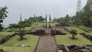The beautiful Cetho Temple, karanganyar, central Java, places of penglukatan