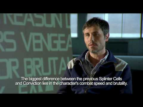 """Splinter Cell Conviction - Behind Closed Doors - """"Create a Hero"""" Trailer by UBISOFT"""