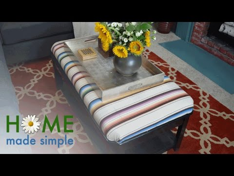 The Gorgeous Way to Give An Ordinary Coffee Table A Modern Update   Home Made Simple   OWN