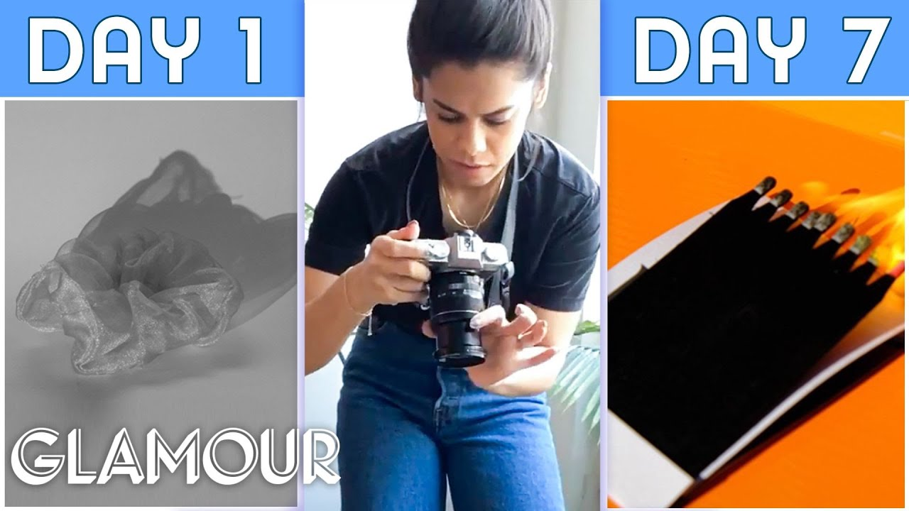 9 Amateurs Try to Master Still-Life Photography in One Week | Glamour