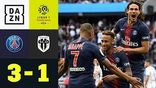 Cavani! Mbappe! Neymar! Tuchels tödliches Trio: PSG - Angers 3:1 | Highlights | Ligue 1 | DAZN