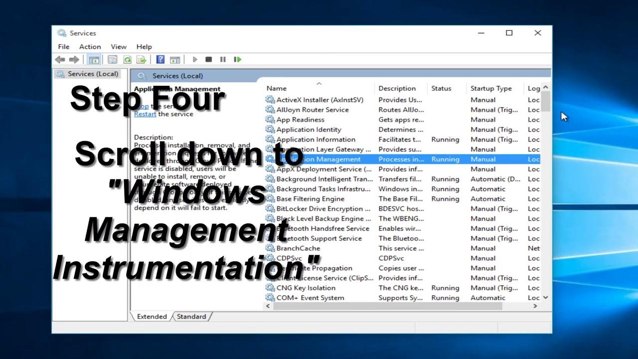 WMI High Memory CPU Usage SOLUTION In Windows 10/8/7