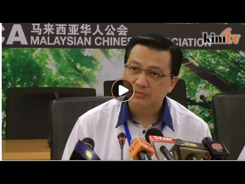 Liow: Strengthening MCA my focus - no time for Chua Soi Lek