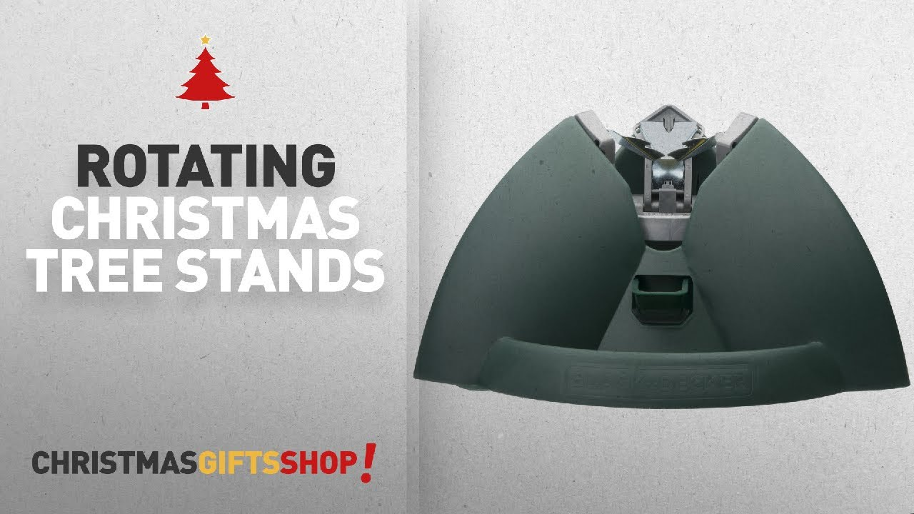 Most Popular Rotating Christmas Tree Stands: Black U0026 Decker Christmas Tree  Smart Stand With