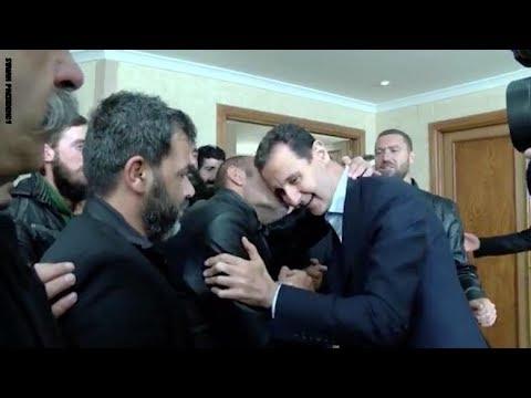 بشار الأسد يستقبل رهائن السويداء المحررين دون ظهور زوجته  - نشر قبل 3 ساعة