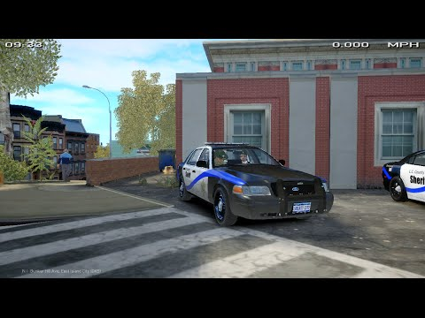 GTA IV LCPDFR 1.0d part 6 NEW CAR SKIN