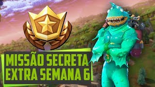 MISSION SECRET WEEK 6/COMPLETE CHALLENGE TRAILS WITH TIME Fortnite Battle Royale ‹ LeagueTroll ›