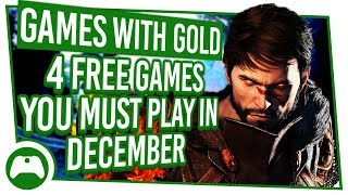 4 Free Xbox Games You Must Play In December | Games With Gold