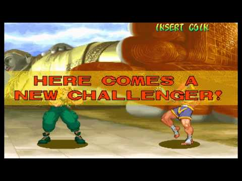 Street Fighter Alpha:Warriors' Dreams Expert Difficulty Charlie Nash No Lose Playthrough