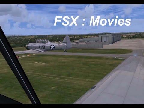 FSX : North American T-6 Texan formation