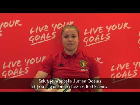 Live Your Goals Footfestival 2016 - Justien & Lisa