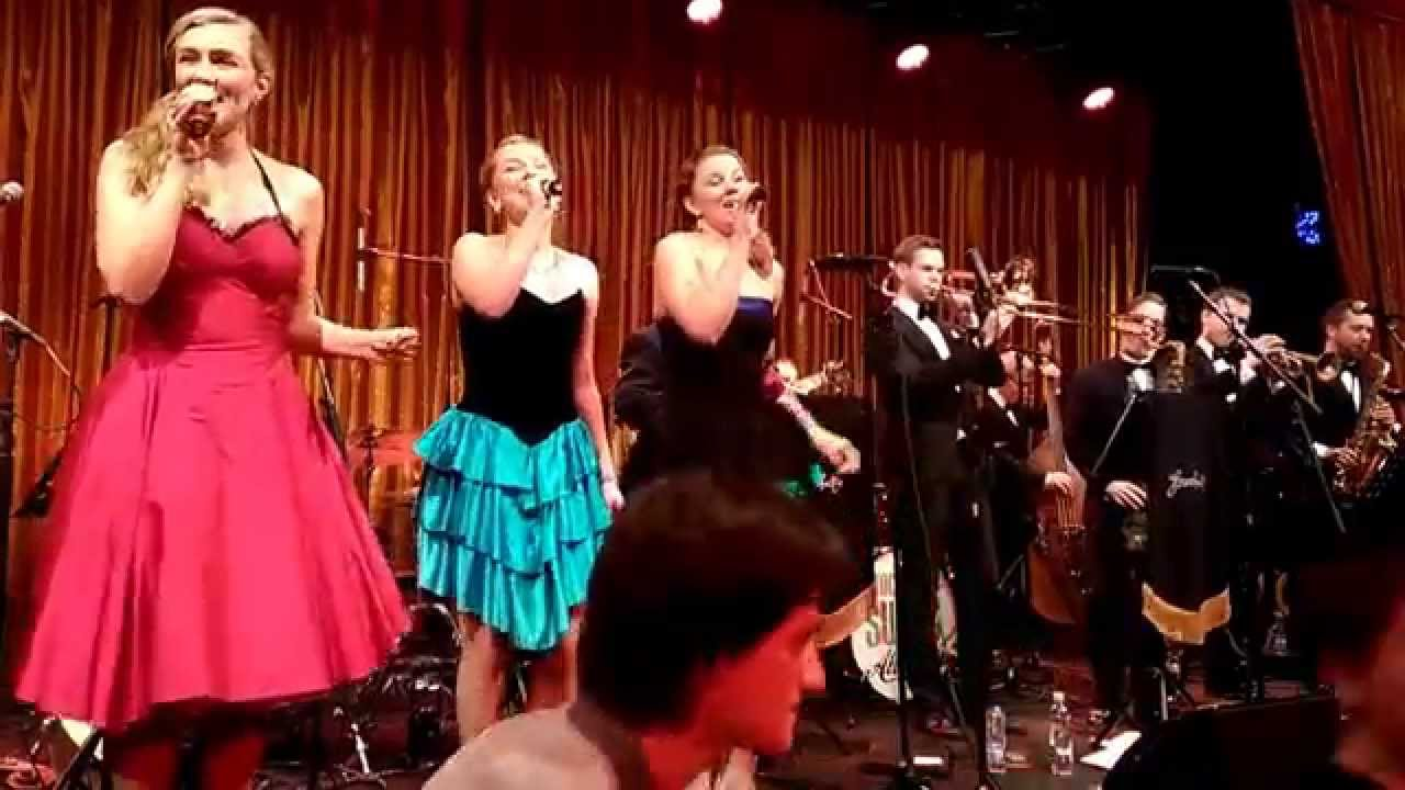 The Snowball 2014 - Stockholm Swing All Stars featuring Hebbe Sisters