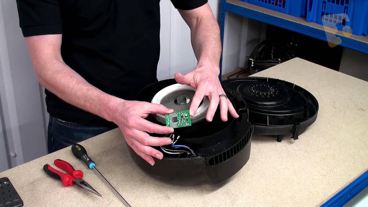 how to replace the pcb on a henry vacuum cleaner youtube. Black Bedroom Furniture Sets. Home Design Ideas