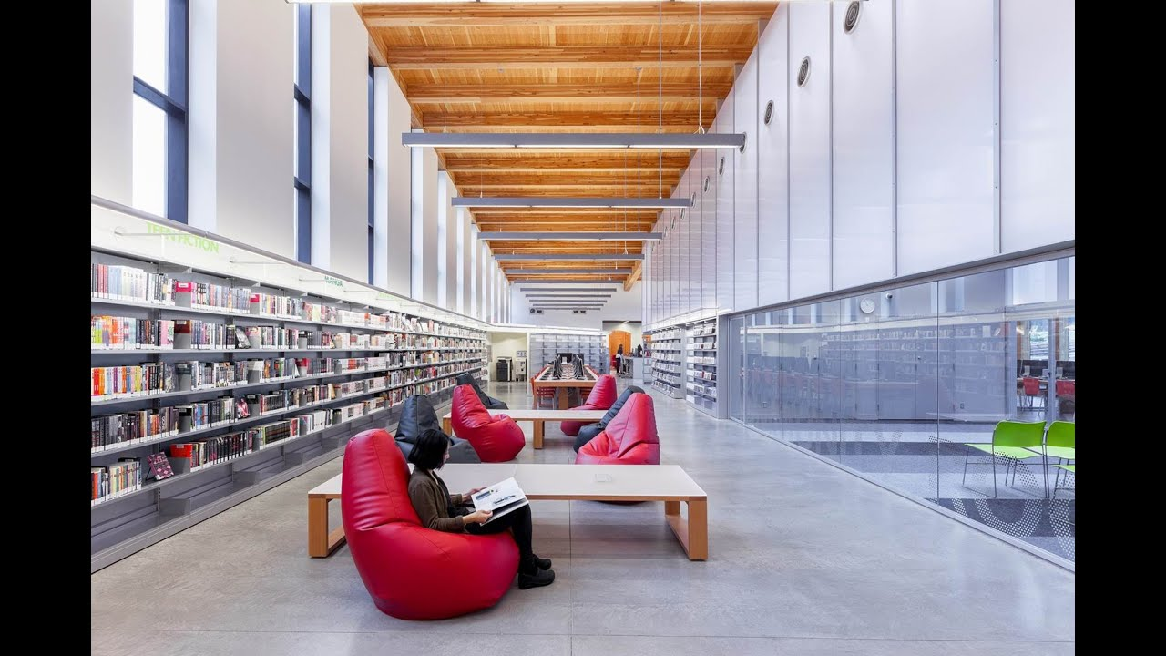 Stapleton branch library award of merit iald lighting design