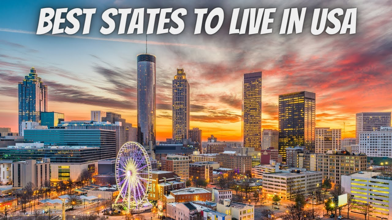 Top 10 Best States To Live In America 2021