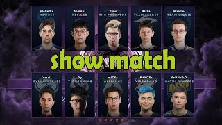 [RU] Матч Всех Звёзд Ti 2019 Show match  ALL STARS The International 9. Плей-офф. День 4