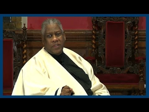 Andre Leon Talley | Full Address | Oxford Union - YouTube