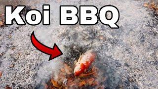 Roasted Koi Fish BBQ!