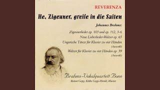 Neue Liebeslieder-Walzer, Op. 65: No. 7, Vom Gebirge Well auf Well