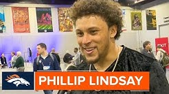 Phillip Lindsay on the Recovery Process & Improving in the Passing Game | Denver Broncos