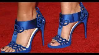 Tacones De Moda Para Mujer Color Azul