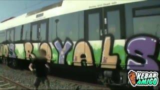 🗞Detenidos por causar daños millonarios graffiti ROYALS Y XPLT 👮