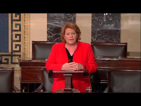 In First Senate Speech, Heitkamp Discusses Her Roots, Desire to Get Things Done