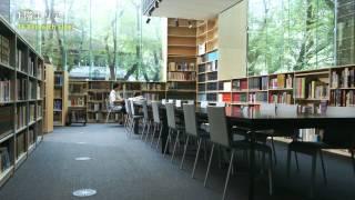 武蔵野美術大学 美術館・図書館  図書館紹介映像 Musashino Art University M&L Library