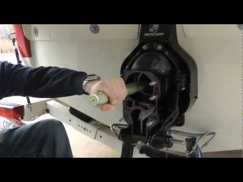 Gimbal Bearing Removal and Replacement by Mallory Marine - iboats com