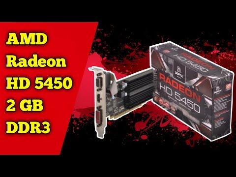 Radeon HD 5450 2gb Ddr 3 Unboxing And Review 😱😱 مراجعة وفتح علبة