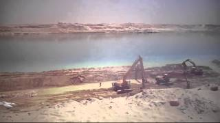 أول فيديو للتدبيش والتكريك بمنطقة القطاع الاوسط وأستخدام