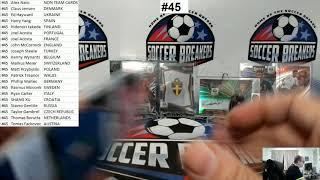 2020 Panini Select UEFA Euro Soccer 4 Box Mixer Pick your Team Break #45 (SOCCER BREAKERS FC)